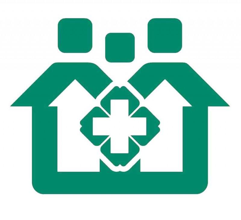 社区绿色小房子logo